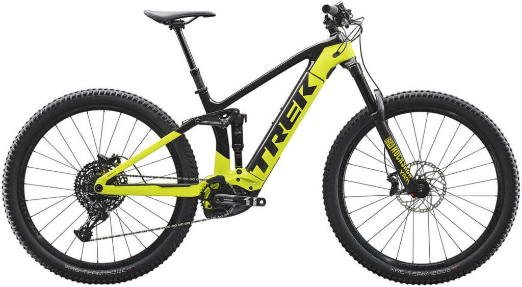 E-Bike Trek Rail 9.7 raw carbon volt s