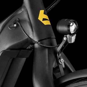 Frontscheinwerfer des Bergamont E-Revox Rigid EQ 2021