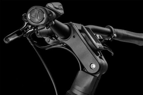 Cockpit des Bergamont E-Ville Pro Belt Premium 2021