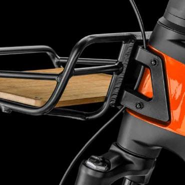 Frontgepäckträger des Bergamont E-Ville Pro Belt Premium 2021