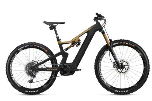 Flyer E-Bike Uproc6 2021 Blackbrown Goldsatin