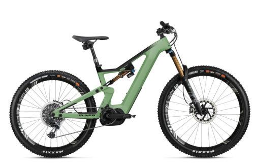 Flyer E-Bike Uproc6 2021 Lichengreen Blacksatin