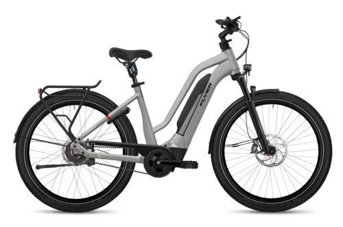 Flyer E-Bike Upstreet3 2021 Comfort Castsilver Gloss