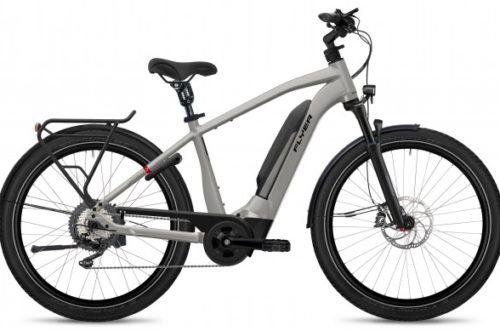 Flyer E-Bike Upstreet3 2021 Gents Castsilver Gloss
