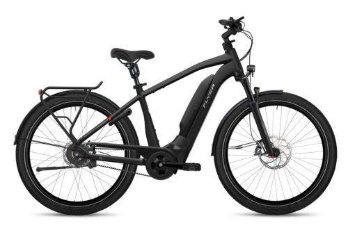 Flyer E-Bike Upstreet3 2021 Gents Pearlblack Gloss