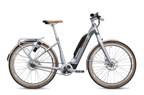 Flyer E-Bike Upstreet5 2021 Anniversary Edition Comfort Radiantsilver