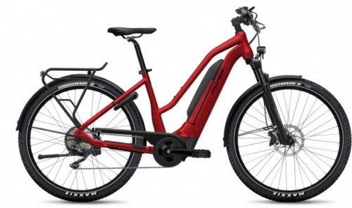 Flyer E-Bike Upstreet5 2021 Comfort Mercuryred Gloss
