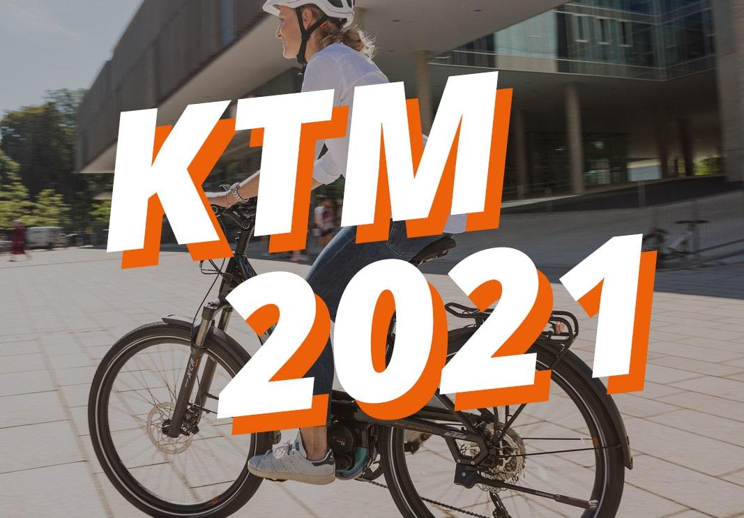 E-bike KTM new releases 2021