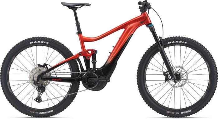 E-Bike Giant Trance X E+ 2 lava red 2021