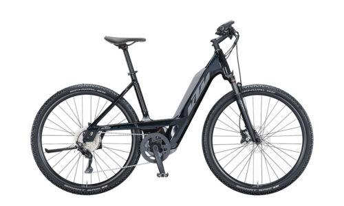 KTM E-Bike Macina Cross 620 2021 metallic black grey blue