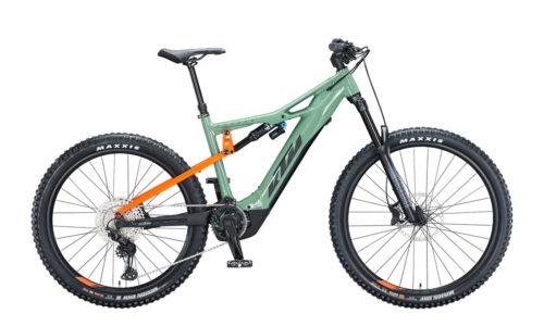 E-Bike KTM Macina Kapoho 2972 2021 plant green black orange