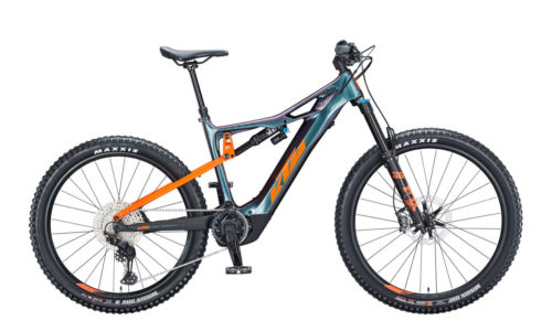E-Bike KTM Macina Kapoho Master space galaxy orange black