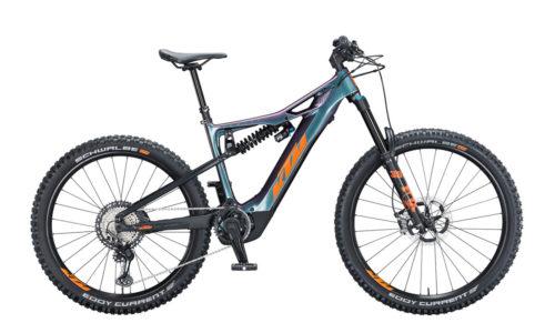 E-Bike KTM Macina Prowler Prestige 2021 Men space galaxy orange black