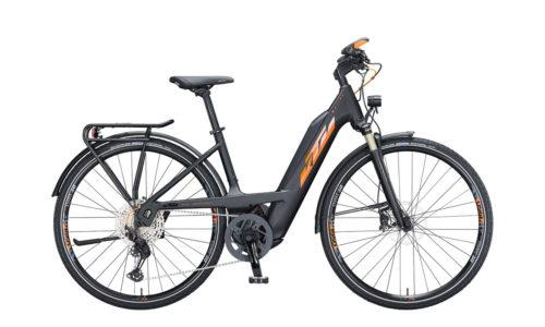 E-Bike Macina Sport 610 2021 black matt orange flip black glossy