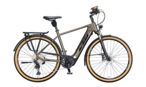E-Bike KTM Macina Style- 610 2021 Men oak black orange