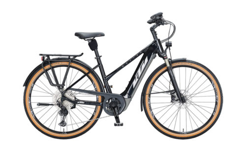 E-Bike KTM Macina Style 610 2021 Women metallic black silver grey