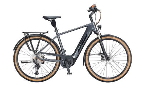 E-Bike KTM Macina Style 620 2021 Men steel grey black orange