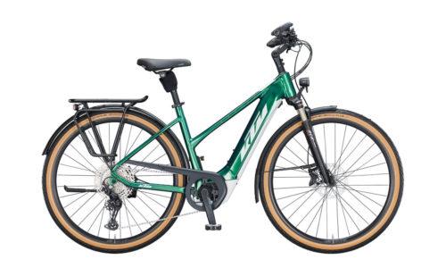 E-Bike KTM Macina Style 620 2021 Women racing green silver copper