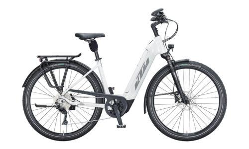E-Bike KTM Macina Tour CX 610 2021 Unisex metallic white