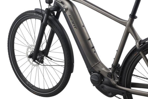 E-bike Giant Explore E+ 2021 with intube battery
