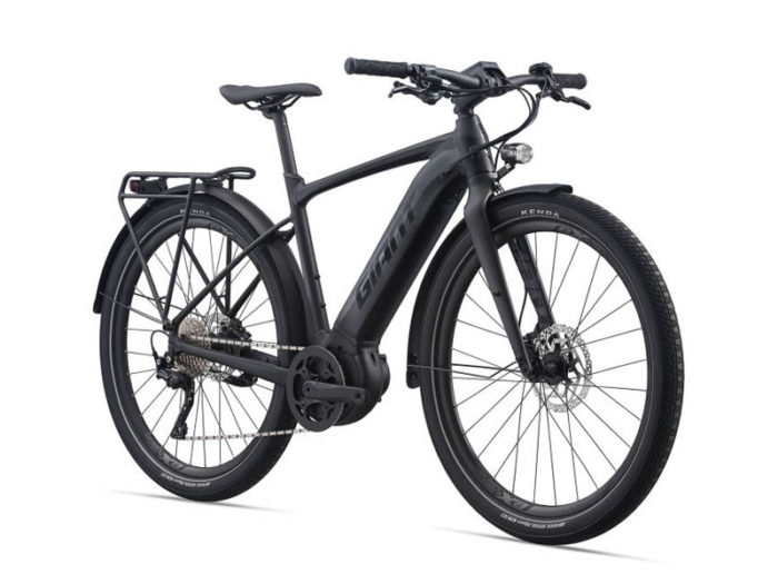 E-Bike Giant Fastroad EX 2021 in a sideview