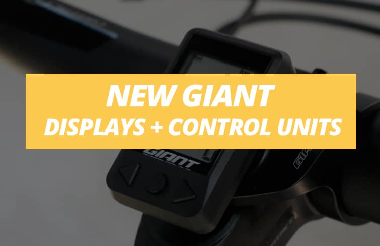 New displays and control units for e-bikes from Giant and Liv in 2021