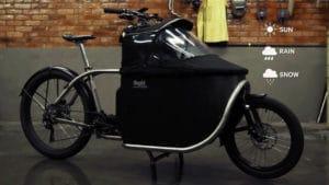Canopy for the e-cargo bike Bogbi