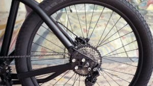 Dropout on the e-bike Bogbi