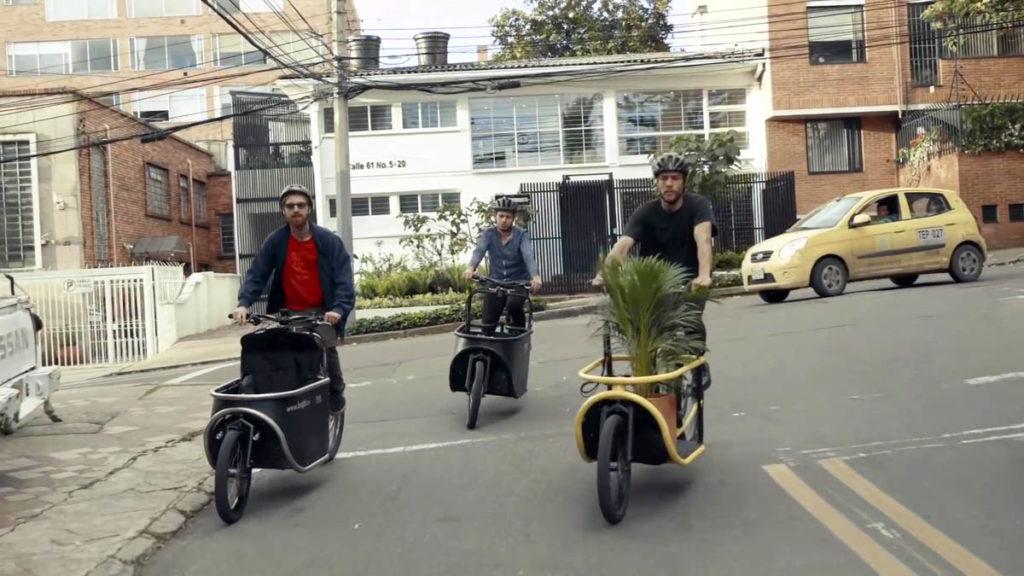 E-cargo bike Bogbi from Colombia
