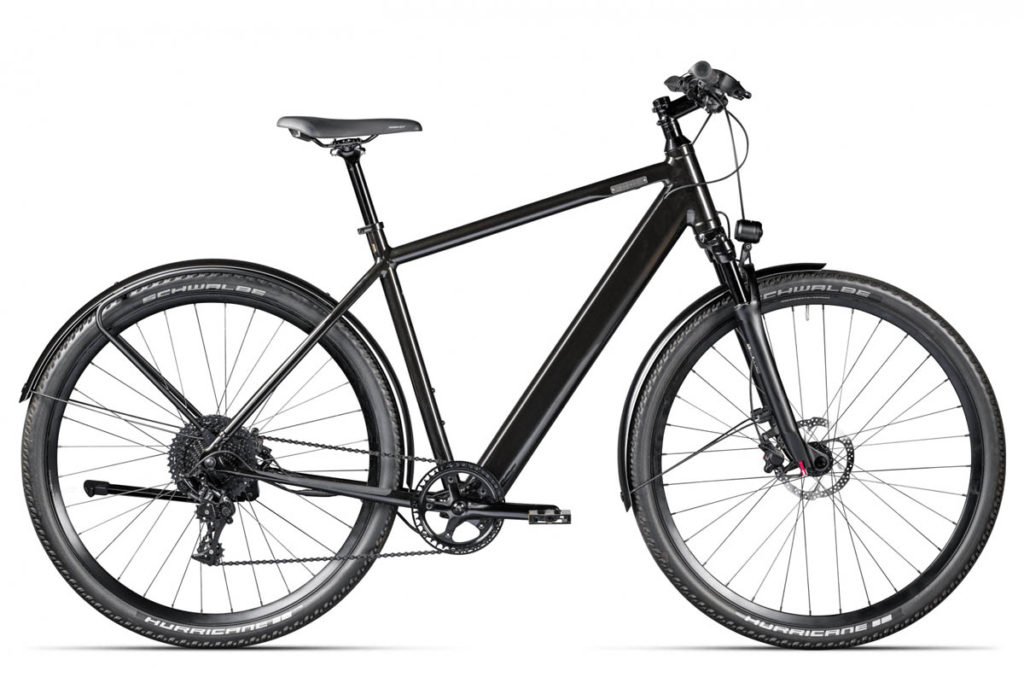 E-bike Iseo from Coboc in the colour Emerald Grey