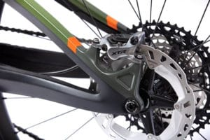 E-bike Shuttle from Pivot for the 2021 season with XTR hydraulic disc brakes from Shimano