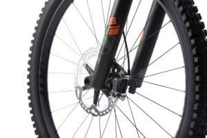 Fox 38 suspension fork on the Pivot e-bike Shuttle for the 2021 season