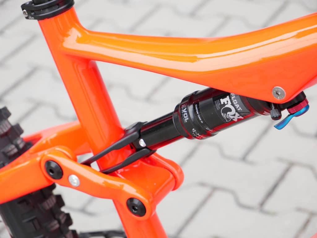 Shock from Fox on BH Bikes iLynx Race Carbon 2021