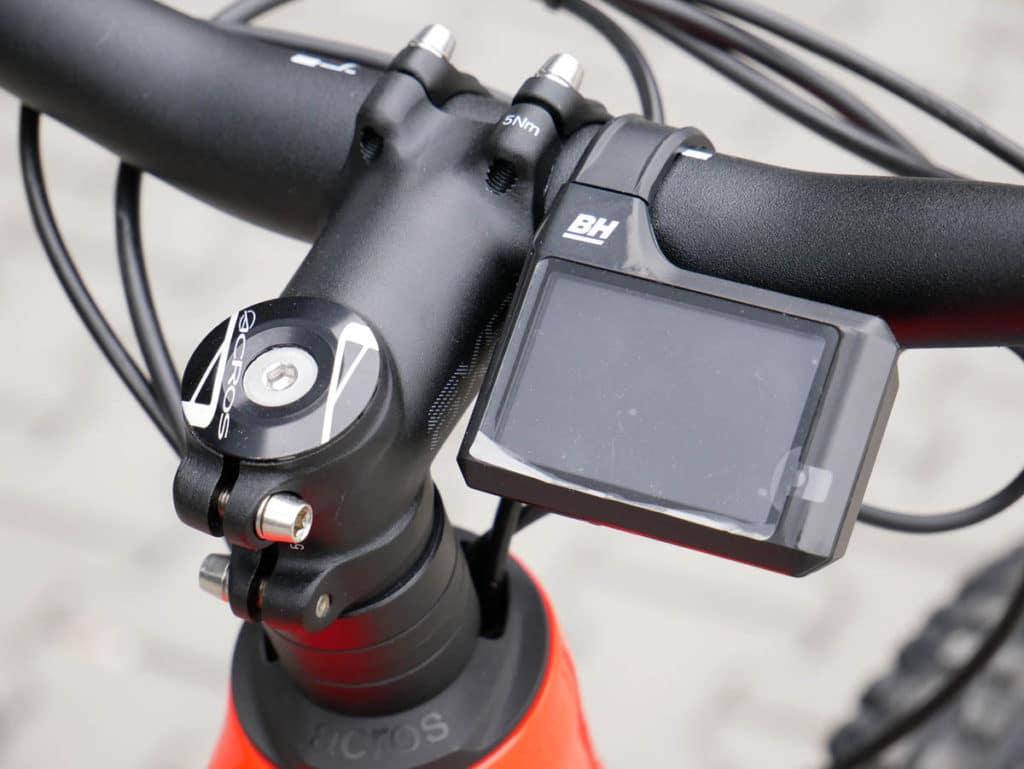 Display on the BH Bikes iLynx Race Carbon 2021