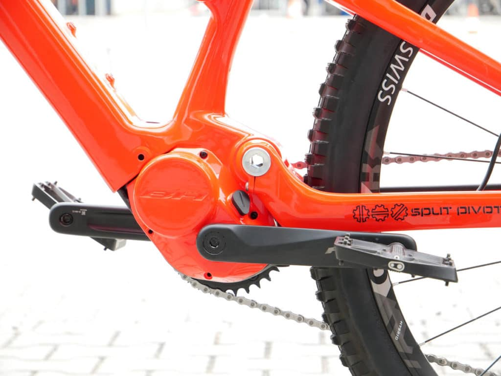 E-bike iLynx Race Carbon from BH Bikes for 2021 with magnesium motor housing