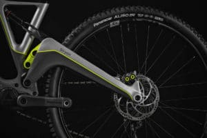 Siryon e-bike from Forestal with massive rear triangle