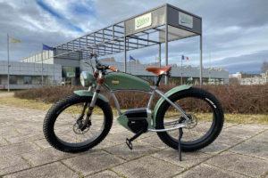 E-bike Atelier Heritage with drive Valeo Smart