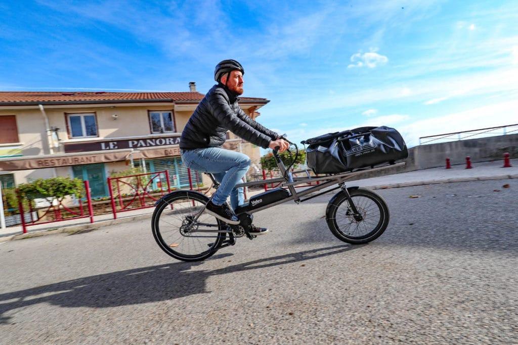 Valeo Smart drive on an e-cargo bike