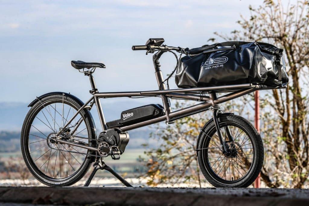 E-cargo bike with the Valeo Smart drive system