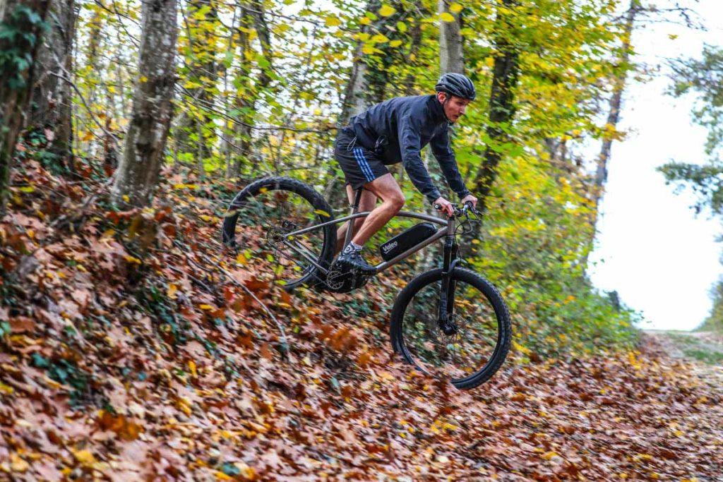 Valeo Smart drive on an e-mountain bike