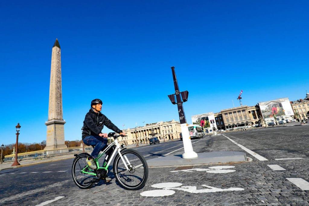 Valeo Smart drive on a trekking e-bike