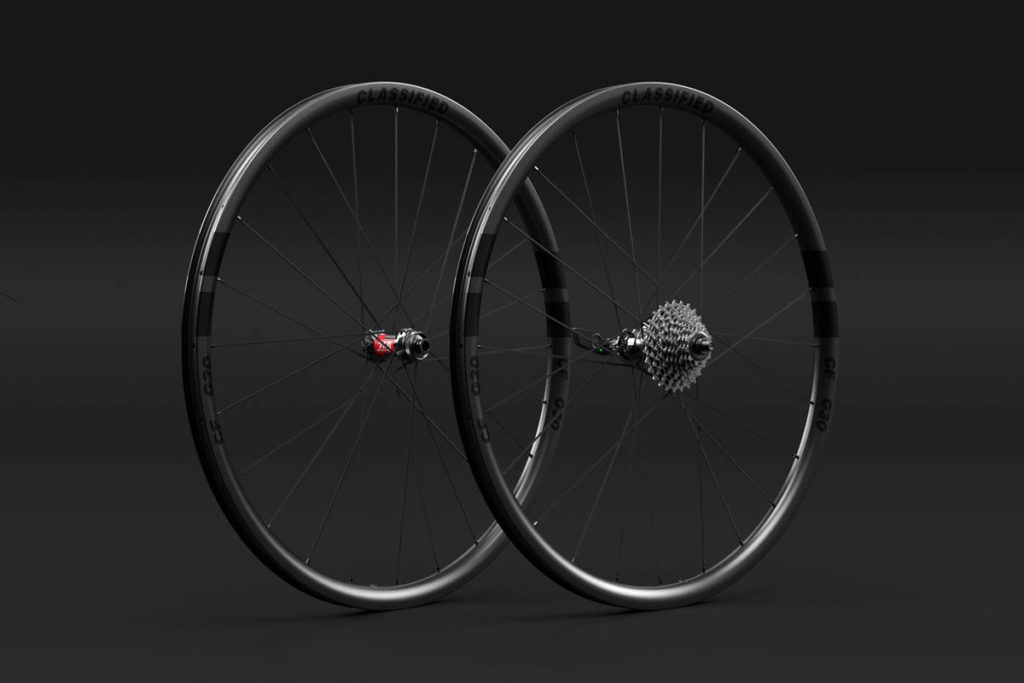 G30 wheelset for Classified Powershift hub