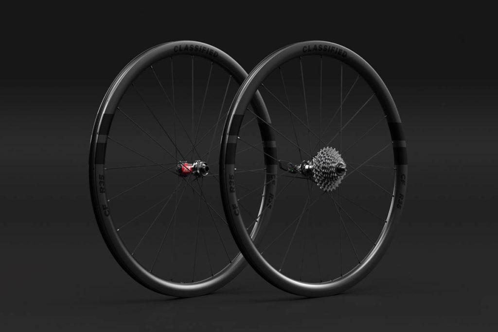 R35 wheelset for Classified Powershift hub