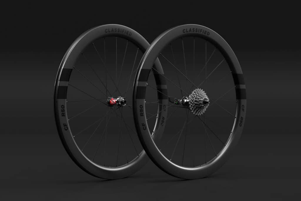 R50 wheelset for Classified Powershift hub