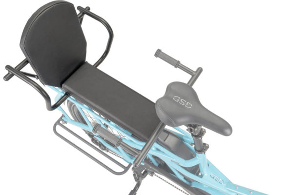 Captains Chair bench for the Tern GSD e-bike
