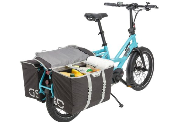 Cargo Hold Panniers for the Tern GSD e-cargo bike