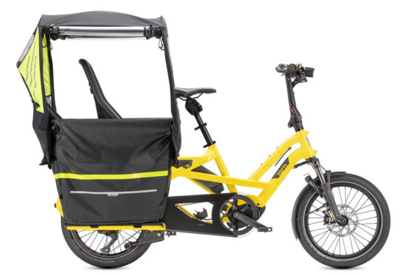 Clubhouse Fort canopy for the Tern GSD e-cargo bike