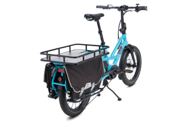 Luggage carrier Shortbed Tray for the Tern GSD e-cargo bike