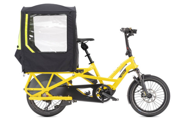 Storm Shield canopy for the Tern GSD cargo e-bike