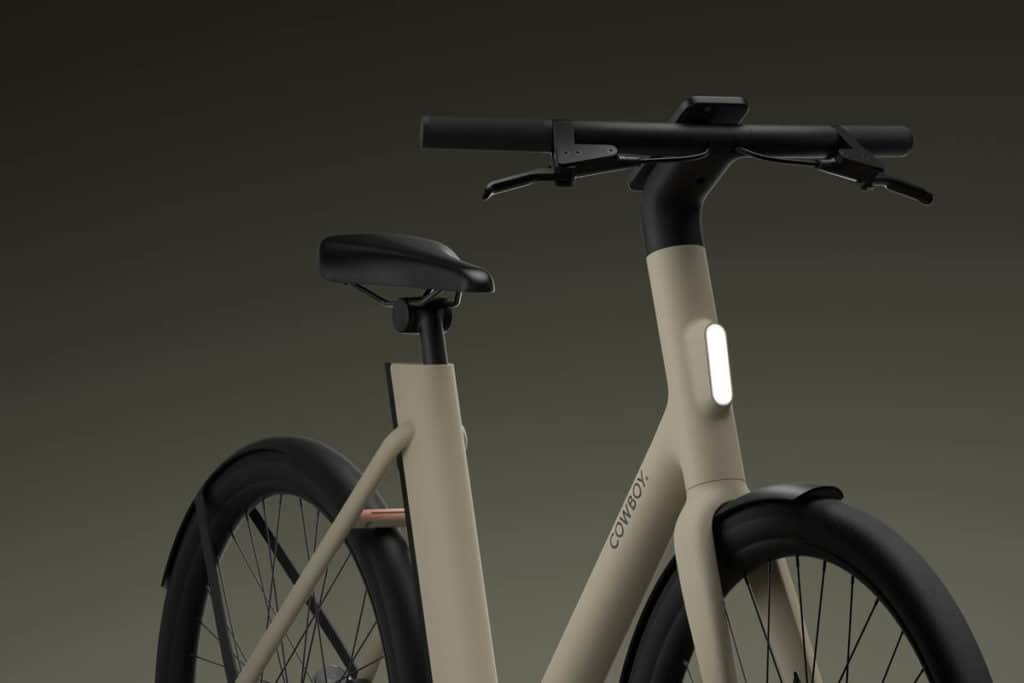 Front view of the C4 ST ebike from Cowboy